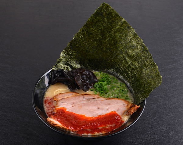 Red Spicy Tonkotsu Ramen with Japanese Seaweed ($12.90)