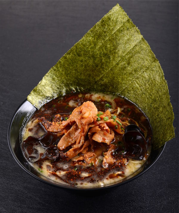 Black Spicy Tonkotsu KING with Japanese Seaweed ($14.90)