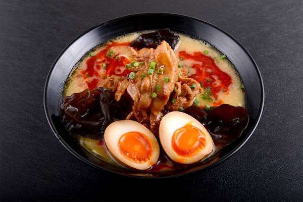 Red Spicy Tonkotsu KING with Flavoured Egg ($15.90)