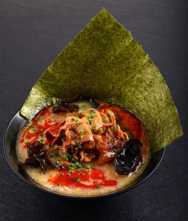 Red Spicy Tonkotsu KING with Japanese Seaweed ($14.90)