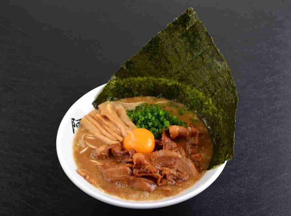 Tonkotsu Ramen AWAODORI with Japanese Seaweed ($14.90)