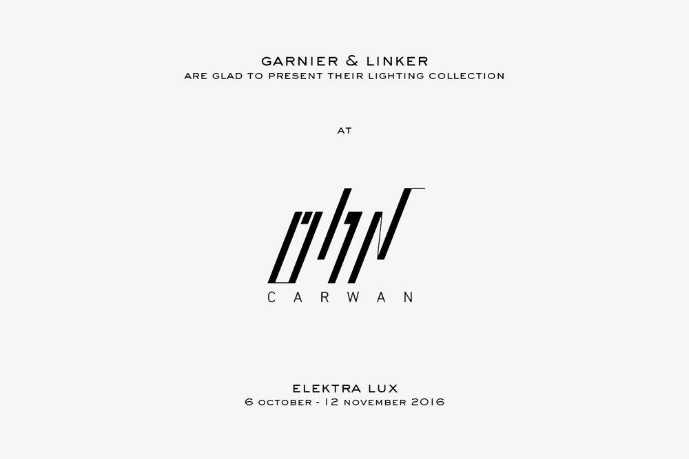 Garnier&Linker at Carwan gallery