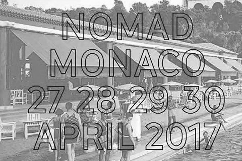 Garnier&Linker new products to be seen during Nomad with Carwan Gallery. From April 27th to 30th 2017.