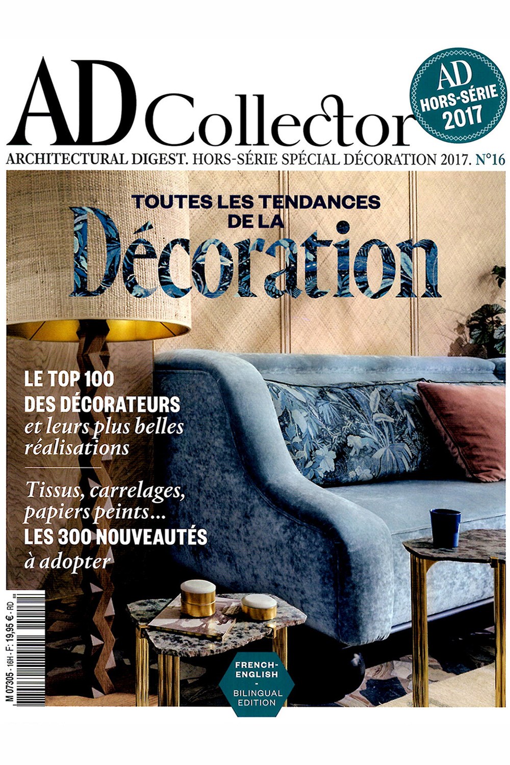 Our Kitayama sideboard in AD Collector Decoration n°16