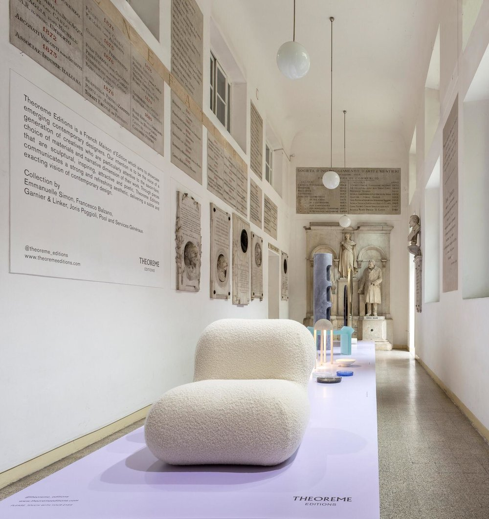 FUORISALONE / with Theoreme Editions, April 2019, Milan - Italy