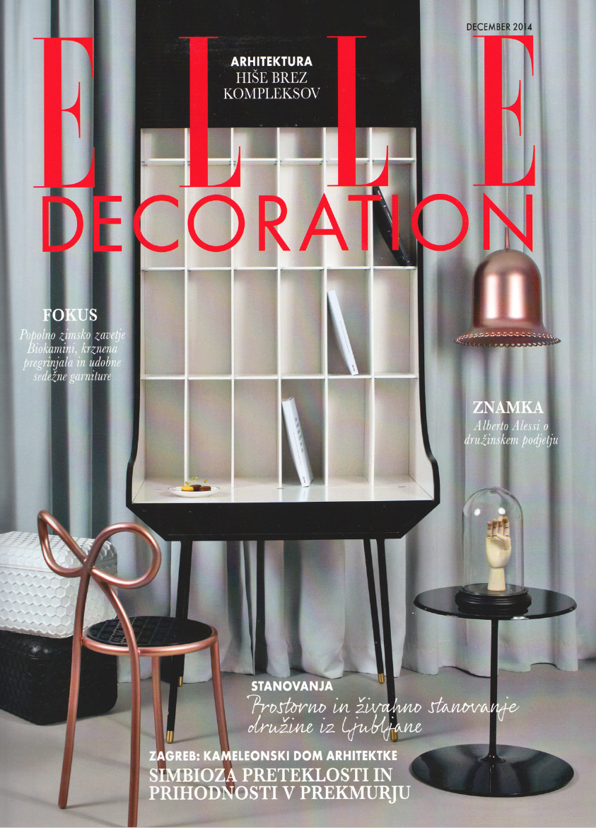 Elle Decoration, Slovenia 2014