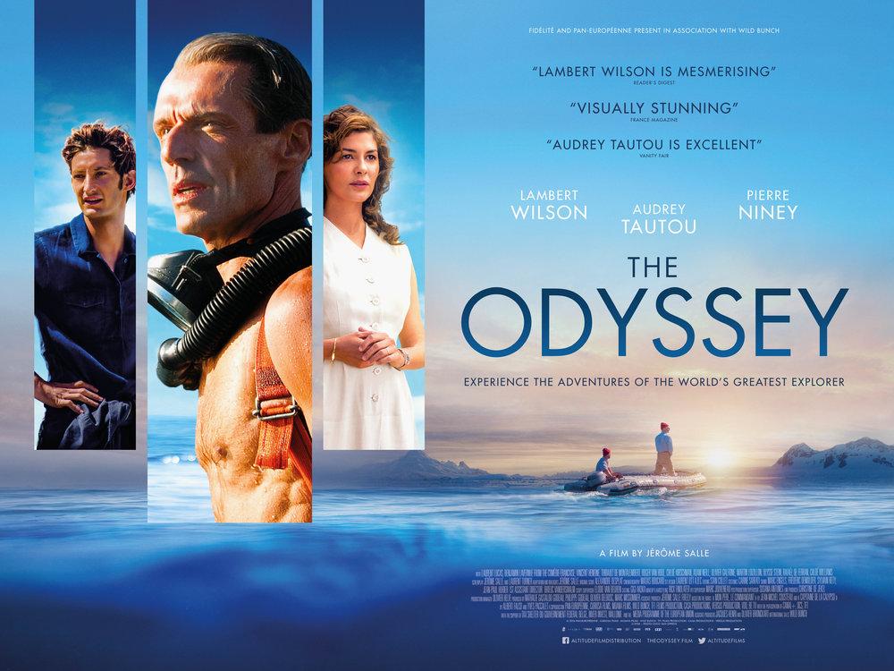 the odyssey film poster design