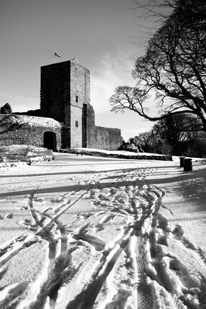 Winter Morning Mugdock Castle Gavin Ritchie Photography