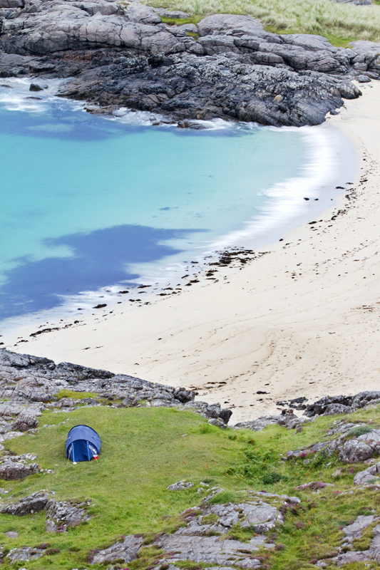Tent at Ardnamurchan