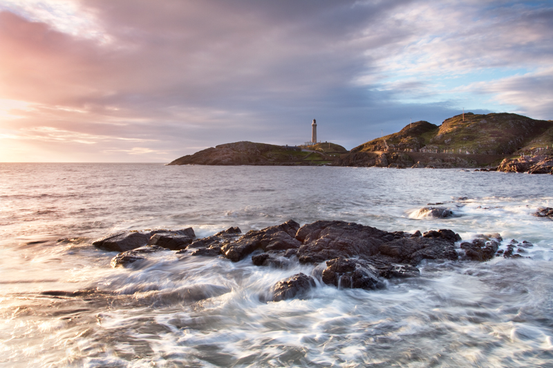 Swirling Waves, Ardnamurchan Lighthouse