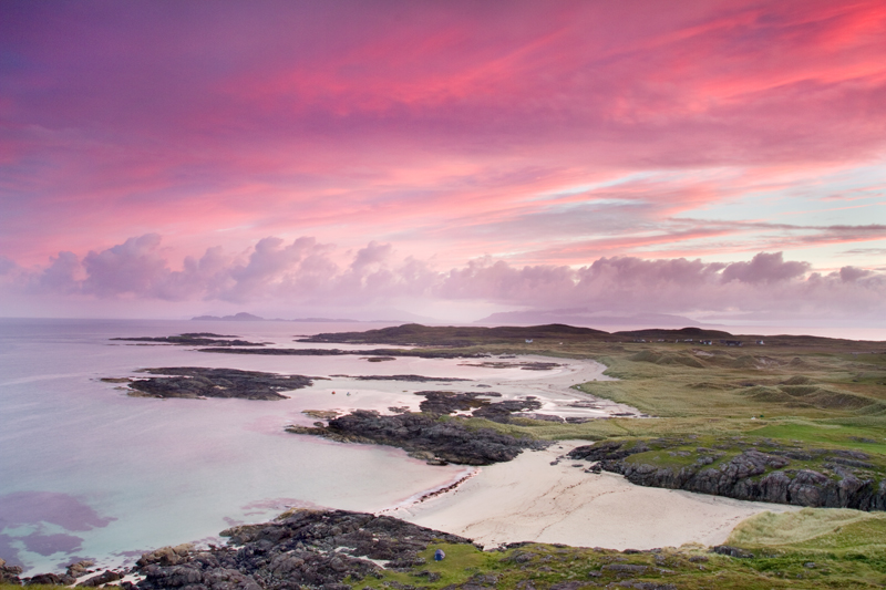 Sunrise over Sanna, Ardnamurchan