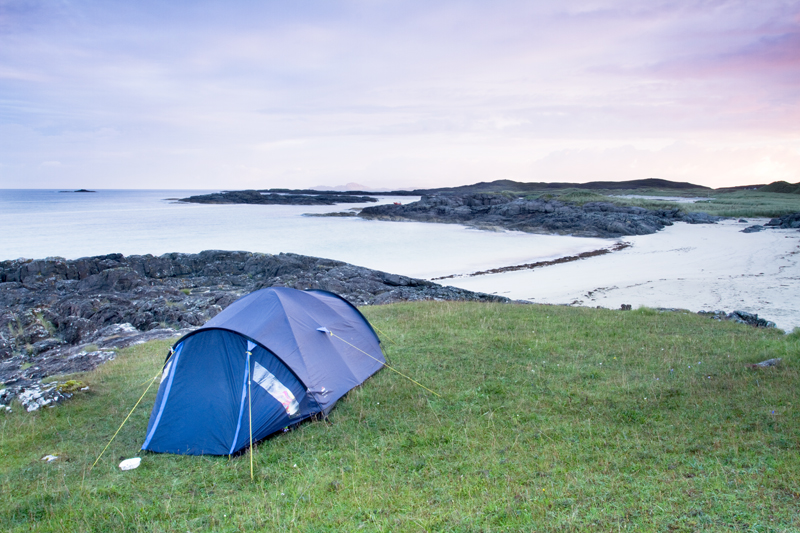 Wild Camp in Ardnamurchan
