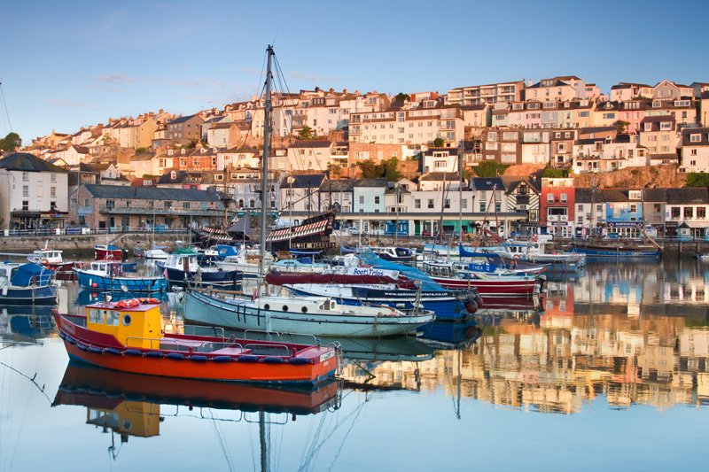 Morning Reflections, Brixham Harbour