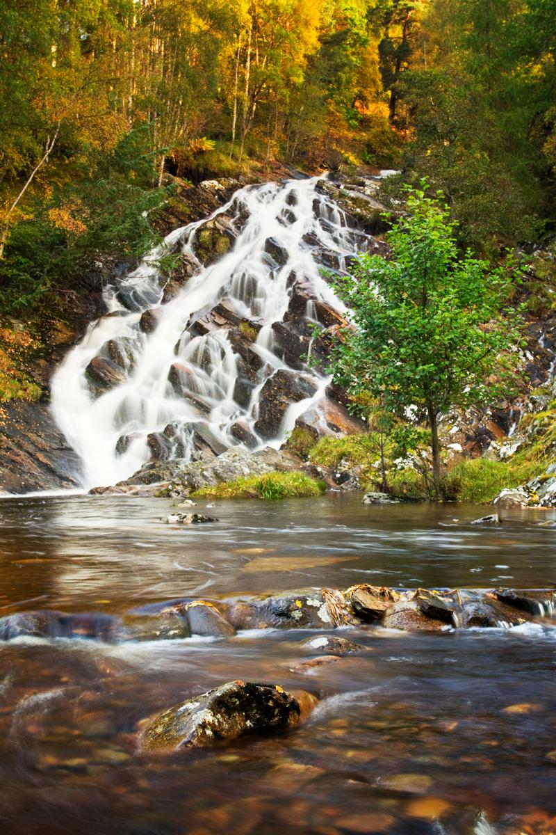 Copy of kinloch rannoch waterfall