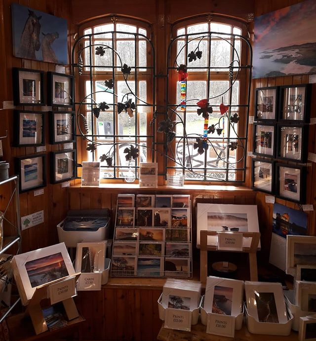 Things are looking Mighty fine in my wee nook of Mugdock Makkers Art and Craft Gallery! Check out the shop 7 days a week 11-5.  www.gavinritchie.co.uk