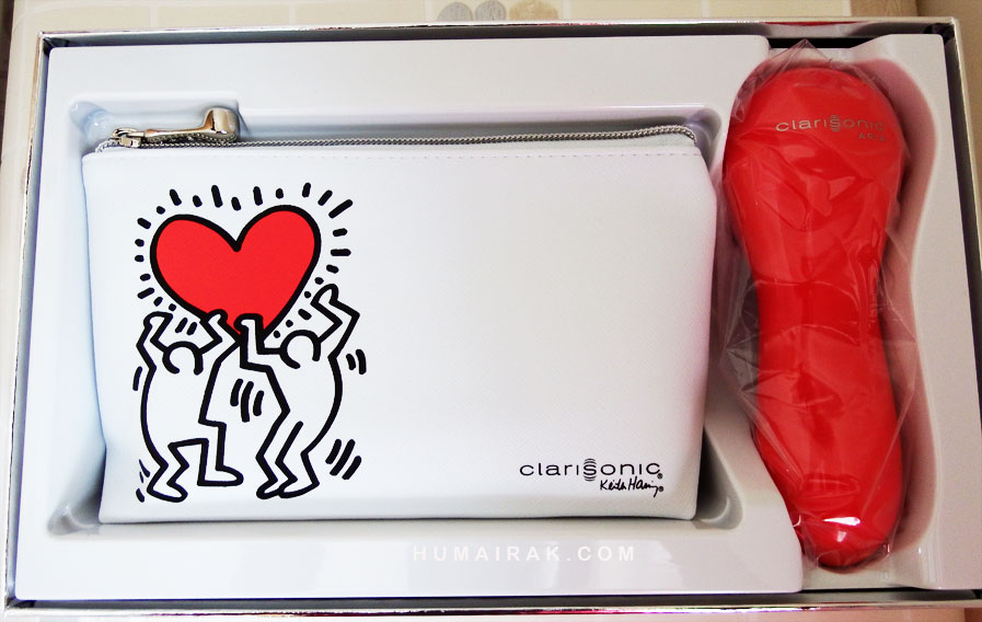 Clarisonic Pop Art Aria Keith Haring Artist Series Collection