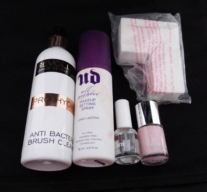 Setting Sprays, Nail Polish and Brush Cleaner