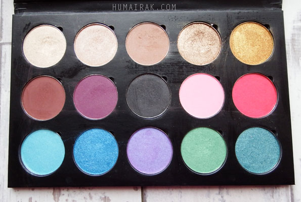 Artist of Makeup Eyeshadow Palette Full Colours| Humairak.com