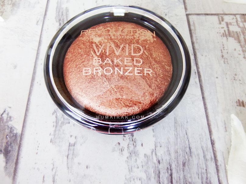 Makeup Revolution Baked Bronzer| Humairak.com