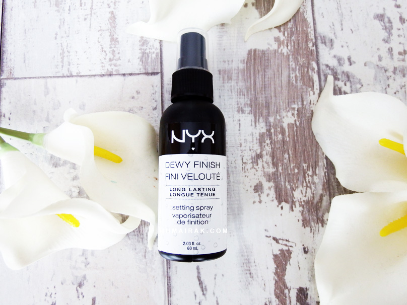NYX Dewy Finish Long Lasting Setting Spray