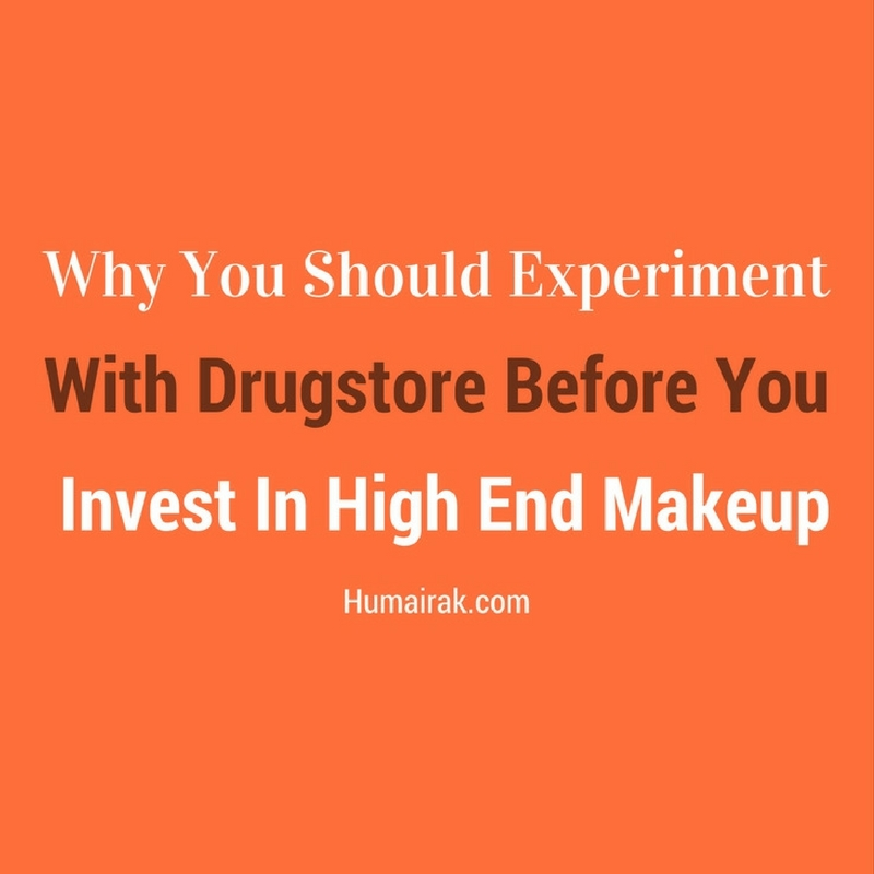 Why You Should Experiment With Drugstore Before You Invest In High End Makeup