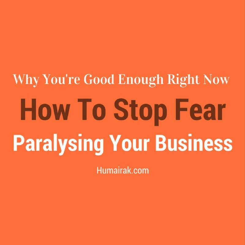 Every freelancer in any industry goes through a feeling of self-doubt. It's perfectly normal, but the problem is letting that fear paralyse your business and your life. In this article, we'll be talking about why you're good enough right now and how to stop fear paralysing your business.
