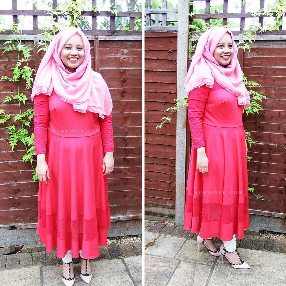 Simply Be Jameela Jamil Pointe Midi Red Dress   Humairak.com