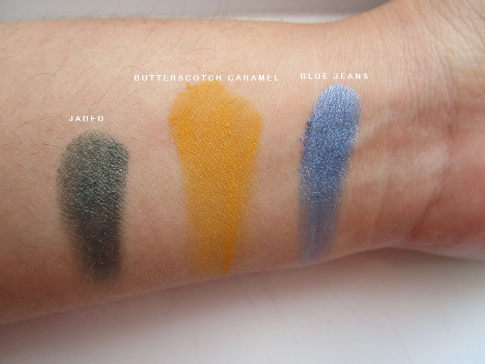 NYX Hot Singles Eyeshadow swatches