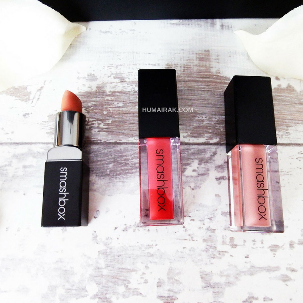 Smashbox Liquid Lipsticks and Matte Lipstick Review