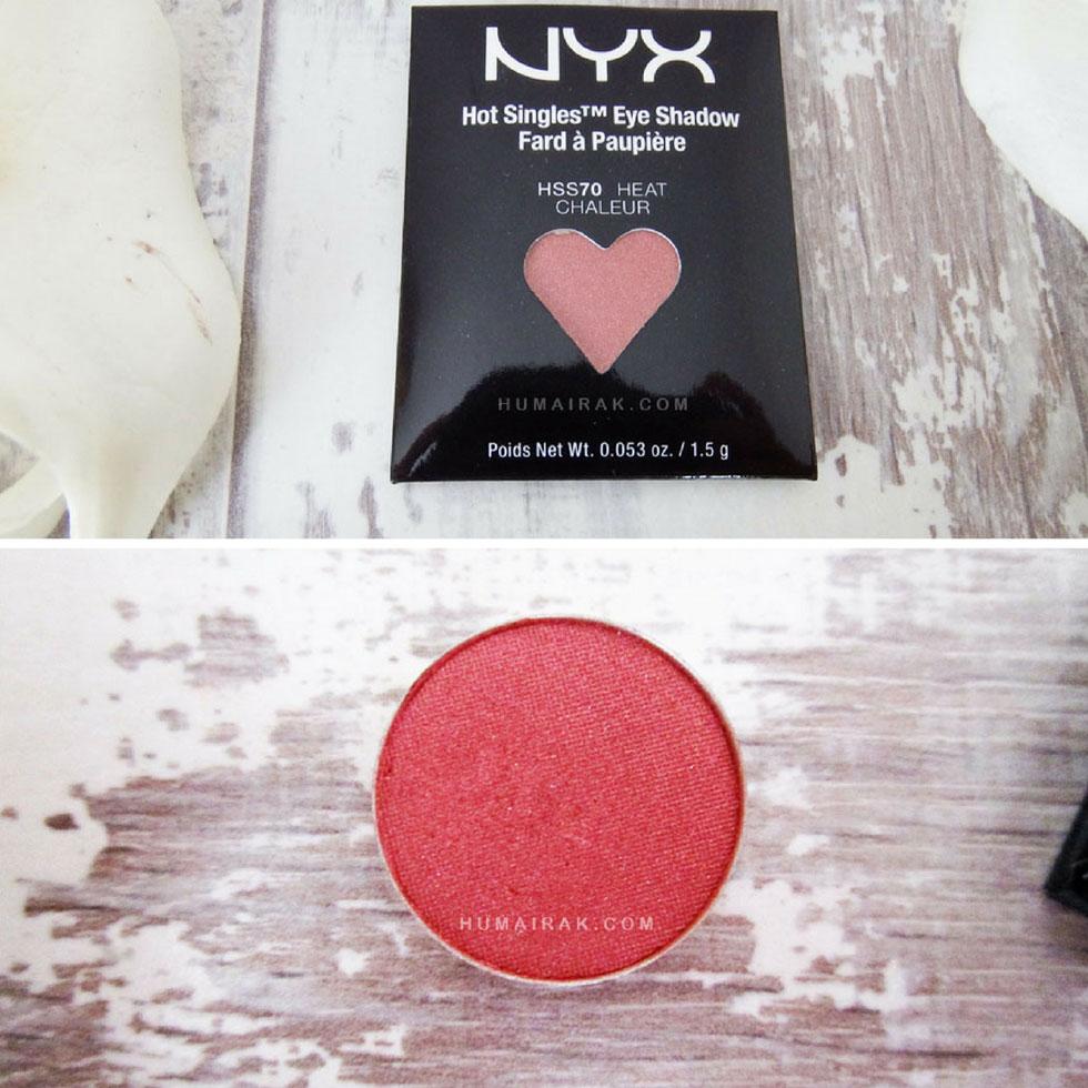 NYX Hot Single Eyeshadows in Heat - Humairak.com Instagram.jpg