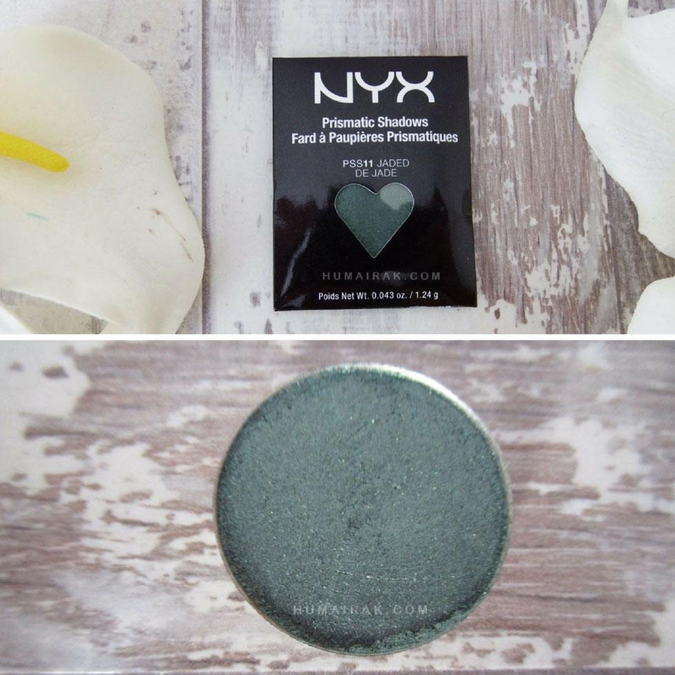 NYX Hot Singles Eyeshadow in Jaded