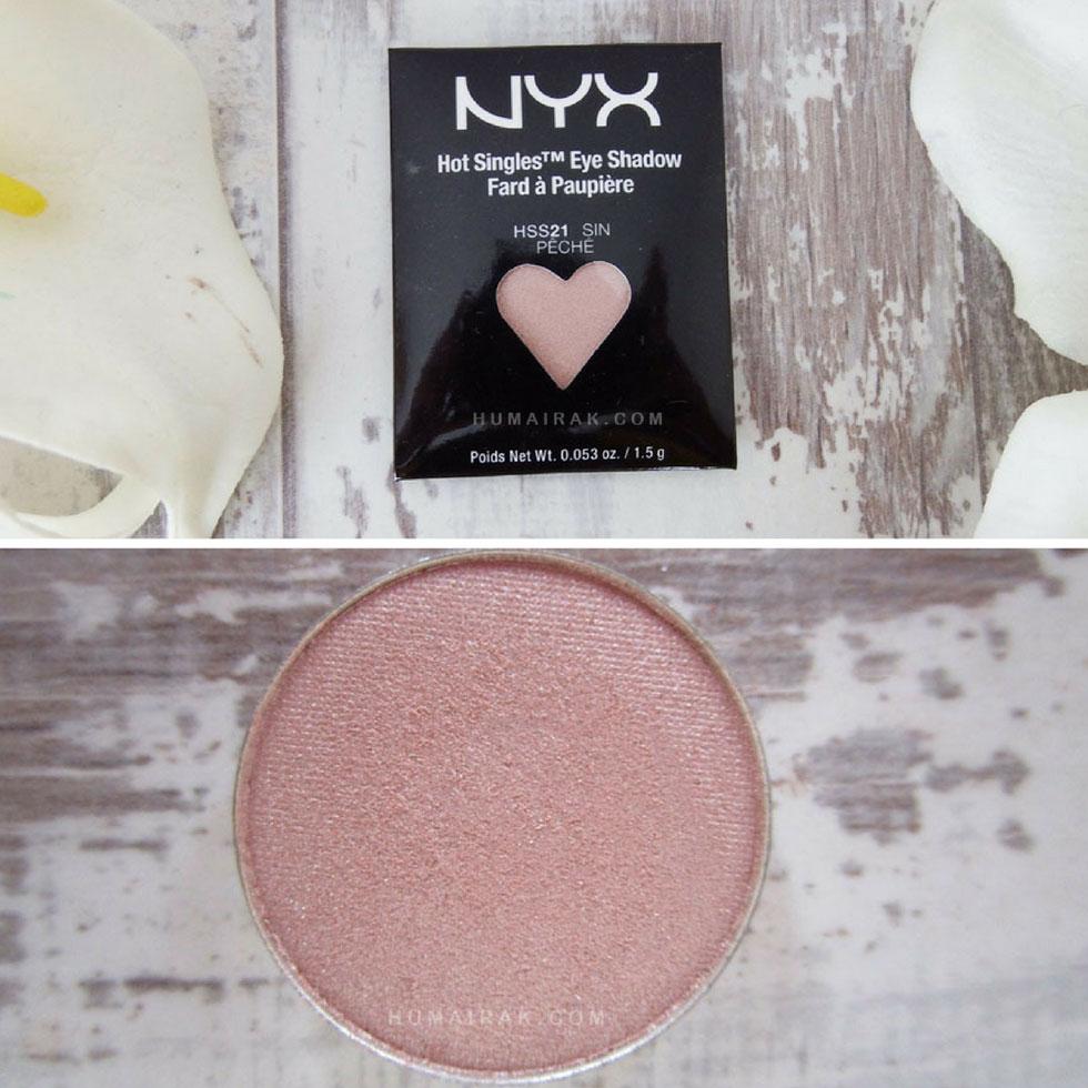 NYX Hot Singles Eyeshadow in Sin