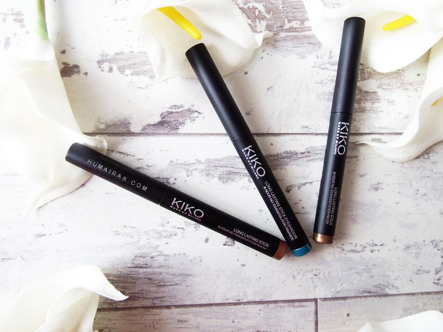 Kiko Long Lasting Eyeshadow Pencils | Humairak.com