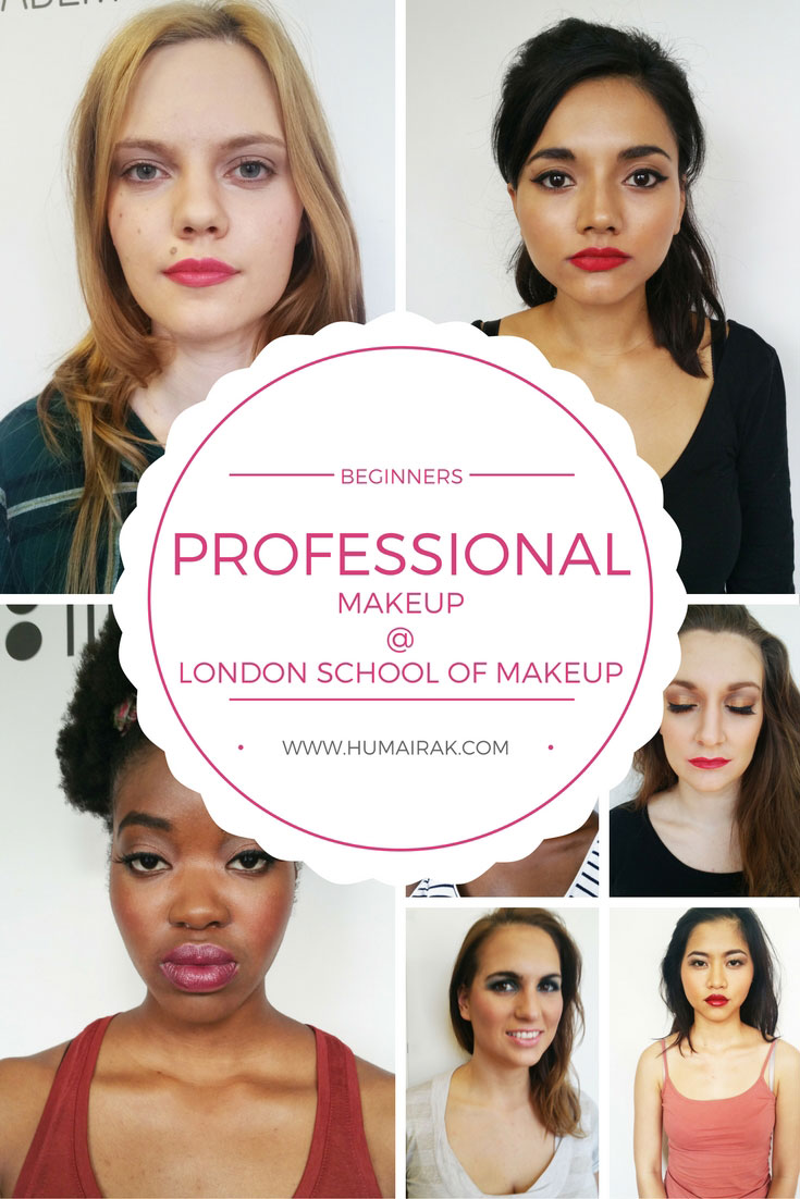 Beginners Professional Makeup Course @ London School of Makeup Review. If you want to become a makeup artist, this course is a great introduction for the beginner to learn how to work on different skin tones and types. | Humairak.com.