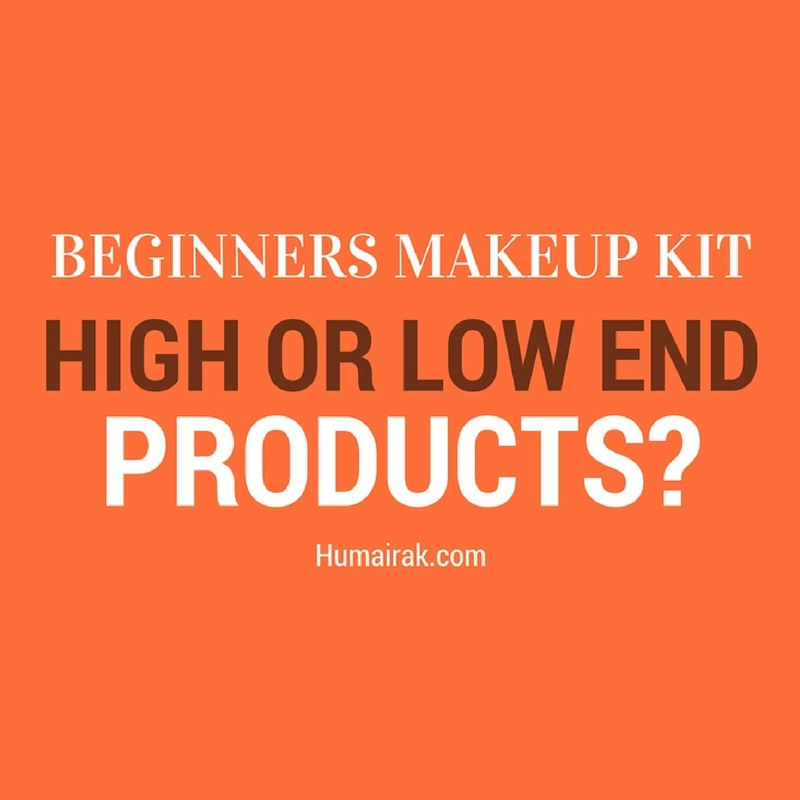 Beginners Makeup Kit - High or Low End Products? High and low end products are an essential for any makeup artist's kit, but which should you have more of? Here we delve into both and showcase which ones are the best fit for your professional kit | Humairak.com