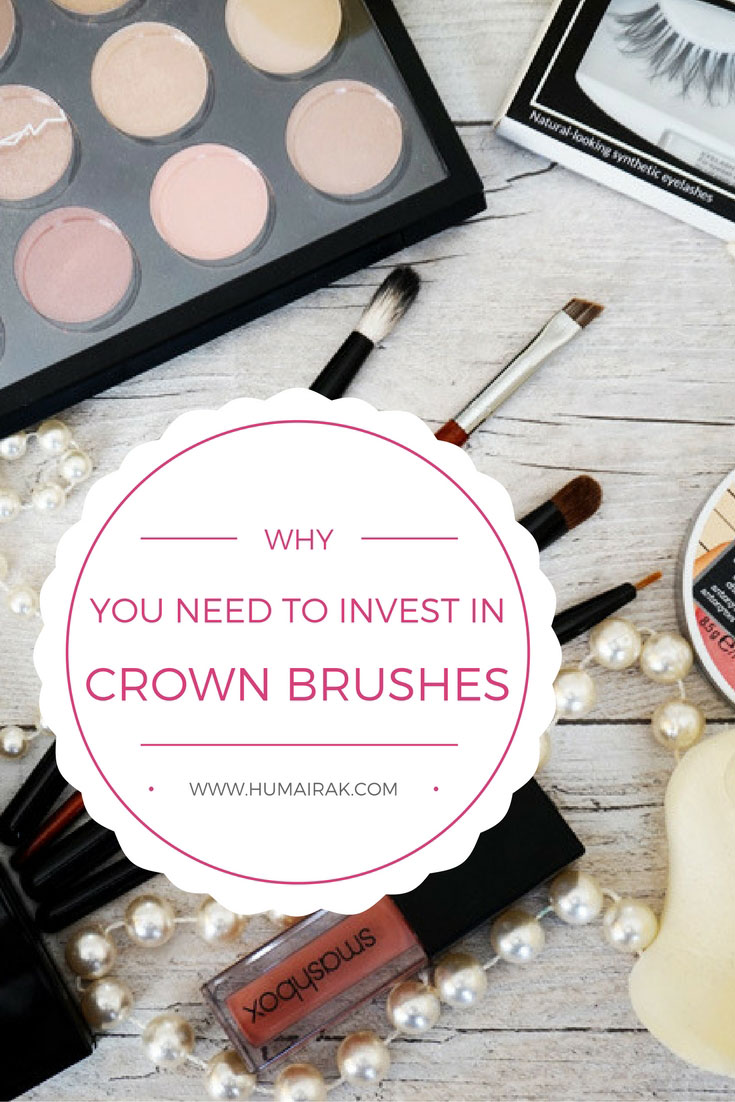 Why You Need To Invest In Crown Makeup Brushes - Crown Brushes supply quality, professional makeup brushes. Find out why you should invest in Crown Brushes that are affordable and excellent quality. Read the full post.