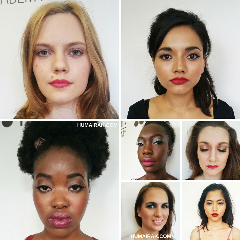Beginners Professional Makeup Course @ London School of Makeup Review. If you want to become a makeup artist, this course is a great introduction for the beginner to learn how to work on different skin tones and types. | Humairak.com