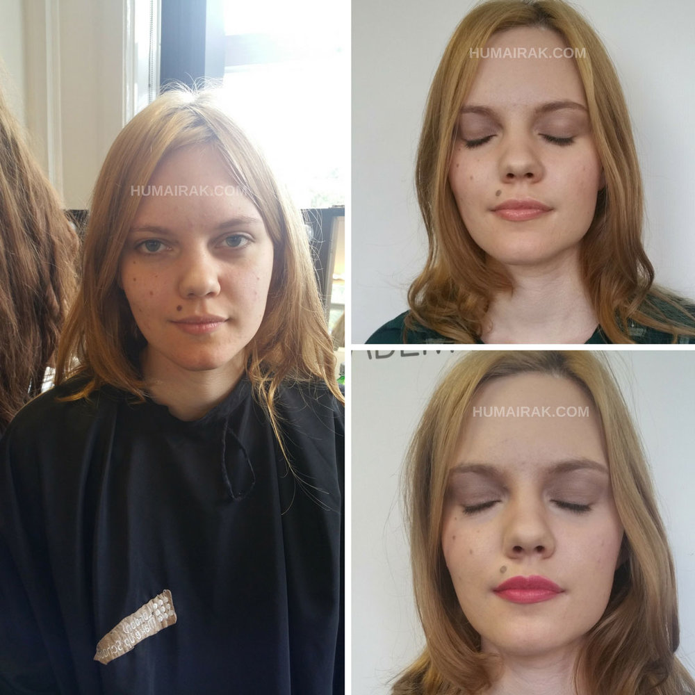 White Makeup Day 1 | Humairak.com