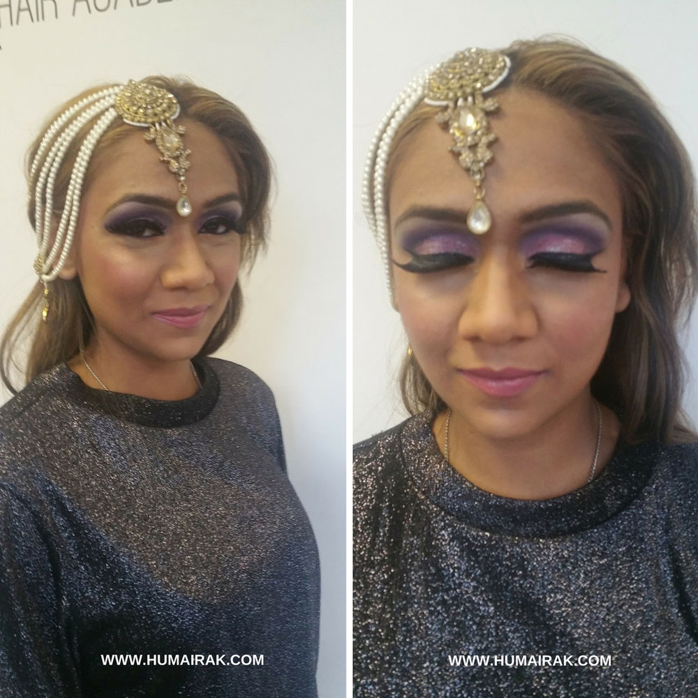 Asian Bridal Hair and Makeup Course review from London School of Makeup. I learned how to do hair & makeup looks for asian brides from simple registry to dramatic bridal makeup & complicated updos | Humairak.com