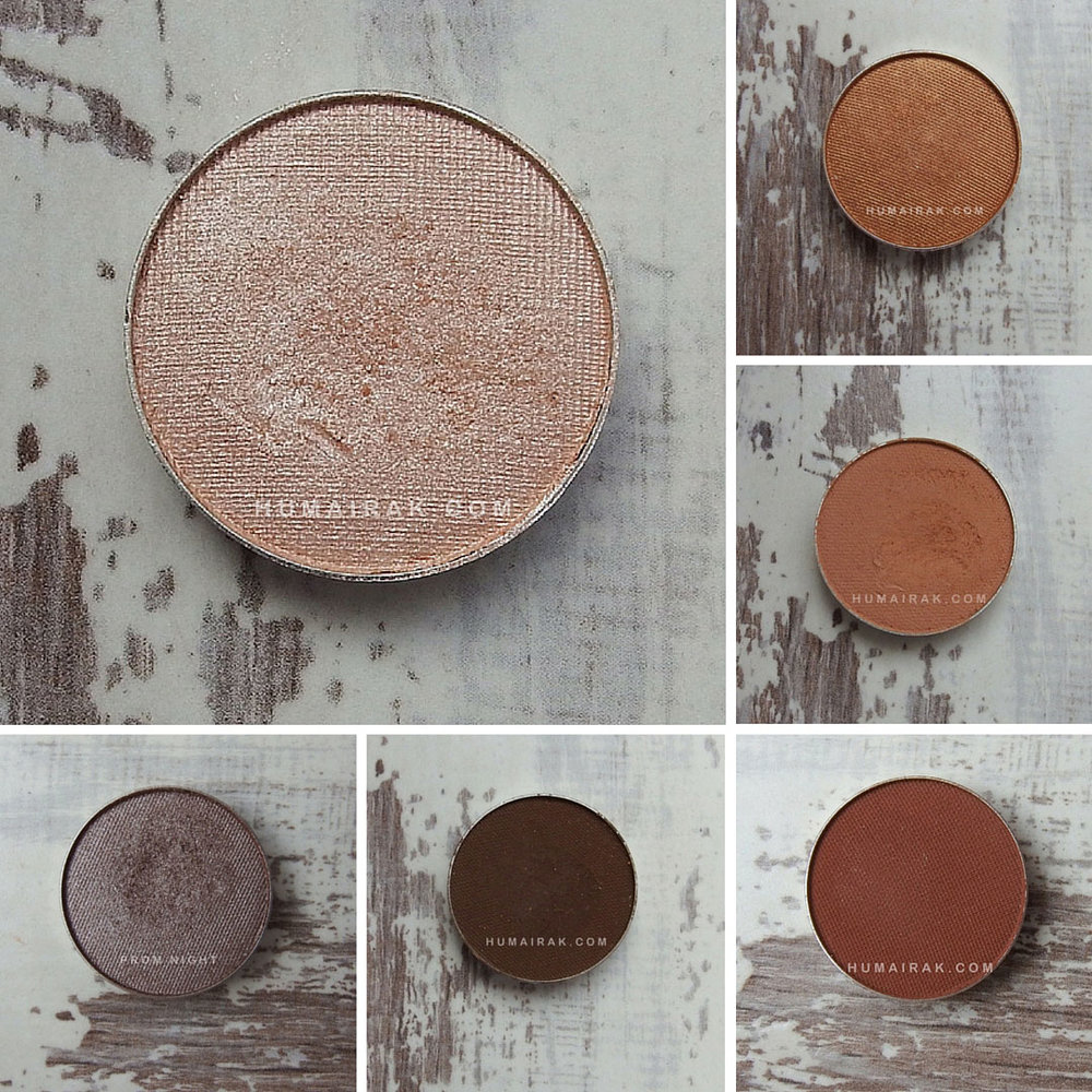 Makeup Geek Eyeshadow Swatches & Review. These eyeshadows are affordable, soft and blendable. Here's my review of some neutral shades from the line | Humairak.com