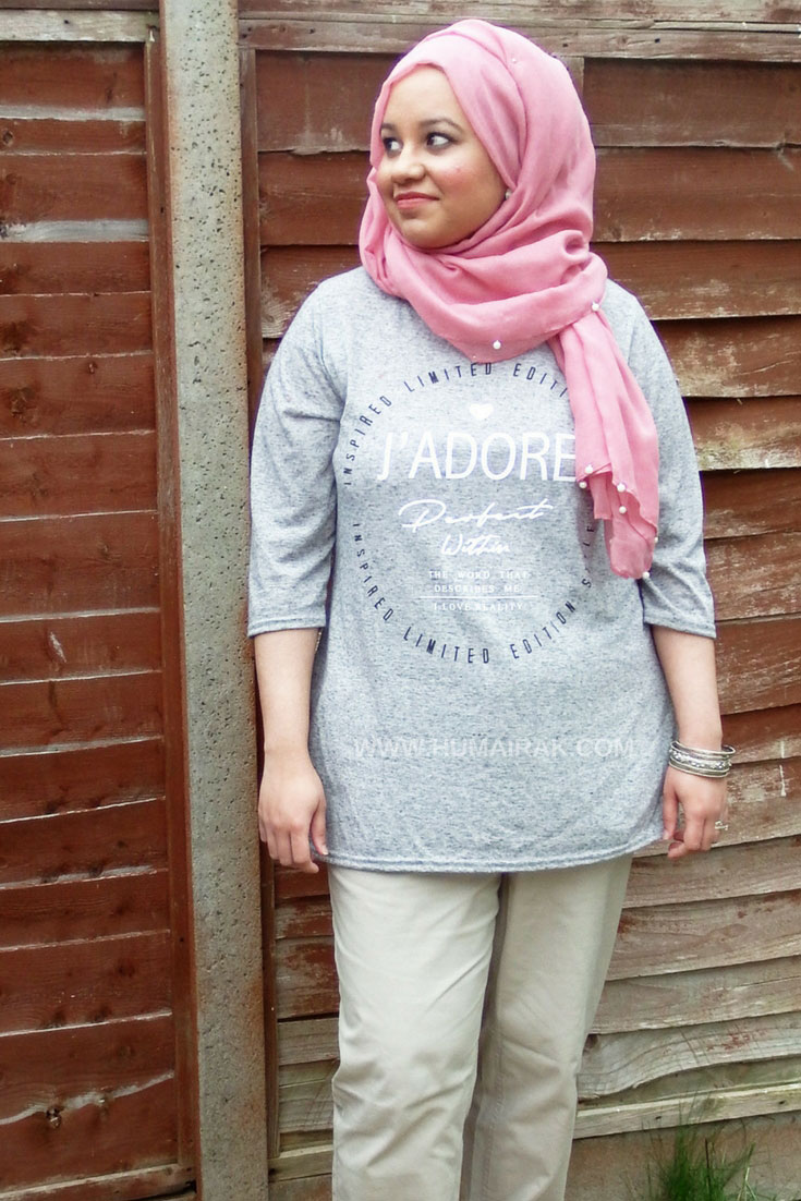 Casual Summer Date Night Outfit With Hijab | Humairak.com