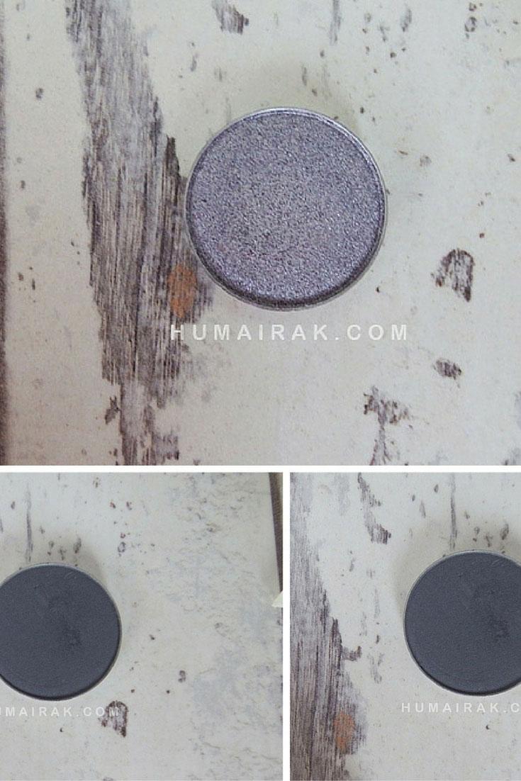 Makeup Geek Silver and Grey Eyeshadows (Review) | Humairak.com