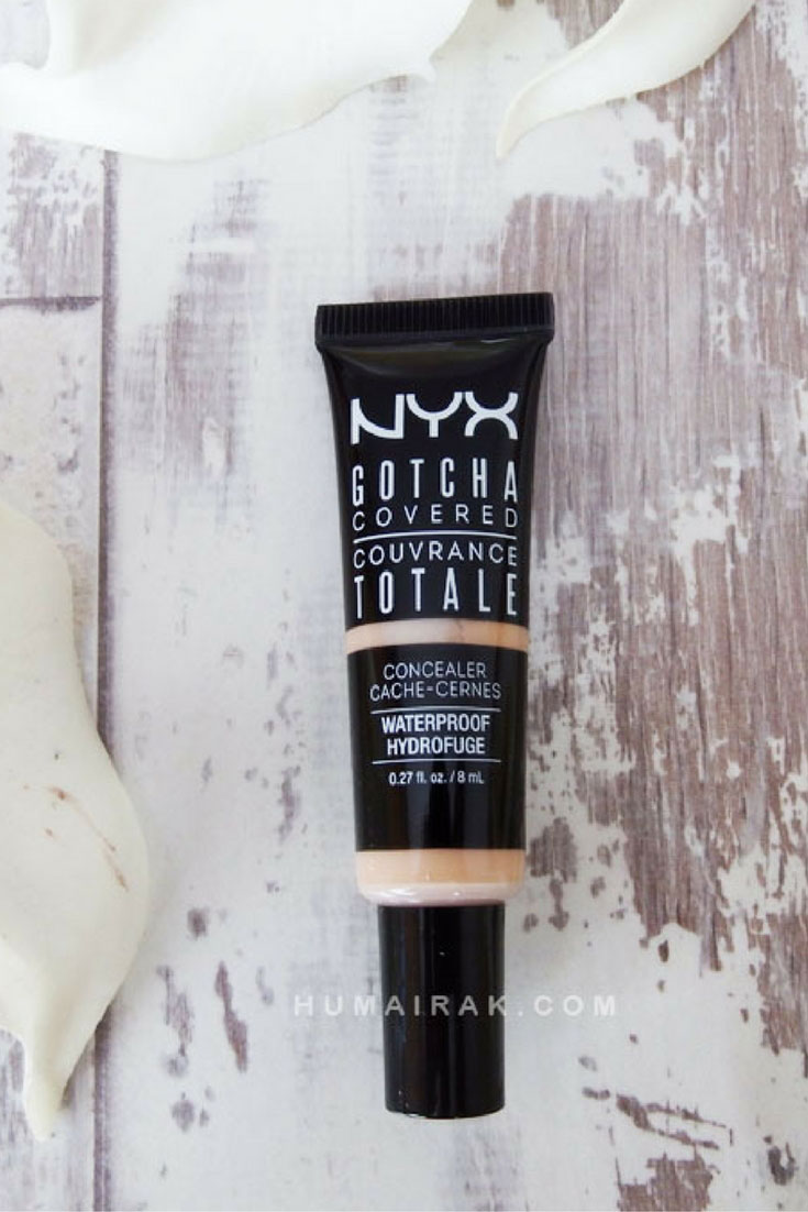 NYX Gotcha Covered Concealer - Why the NYX Gotcha Covered Concealer is not worth the investment. Read the review to find out why. | Humairak.com