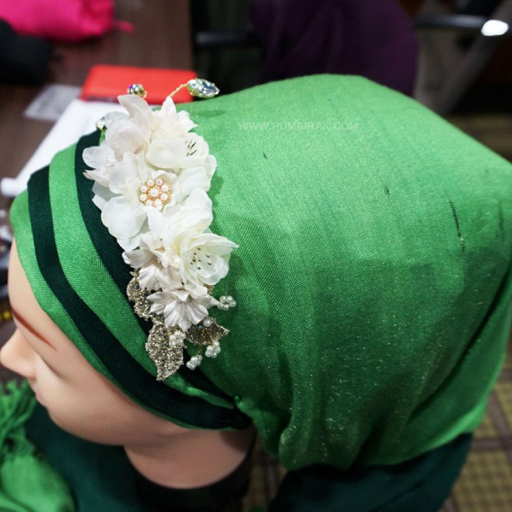 2 Hijab Pleats Side | Humairak.com