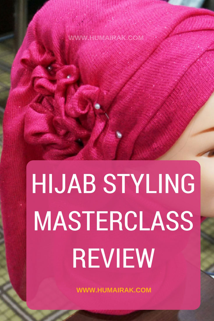 Basics To Bridal Hijab Styling Masterclass Review with Uzma Hijab Stylist. Read the full review to find out what I learned in the 1 Day Masterclas | Humairak.com