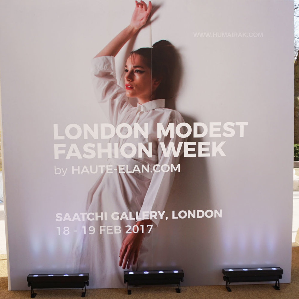 London Modest Fashion Week 2017 | Humairak.com
