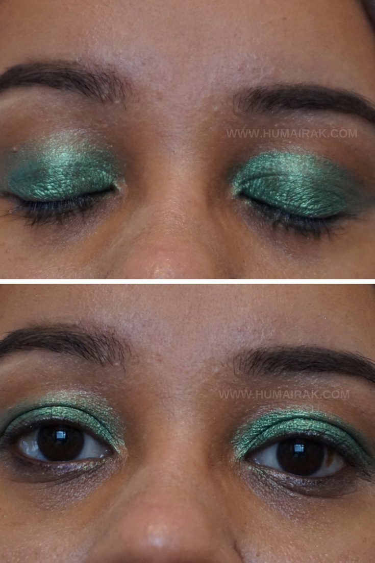 Inglot AMC Pure Pigment Eyeshadow in 56. Swatches and reviews on Humairak.com