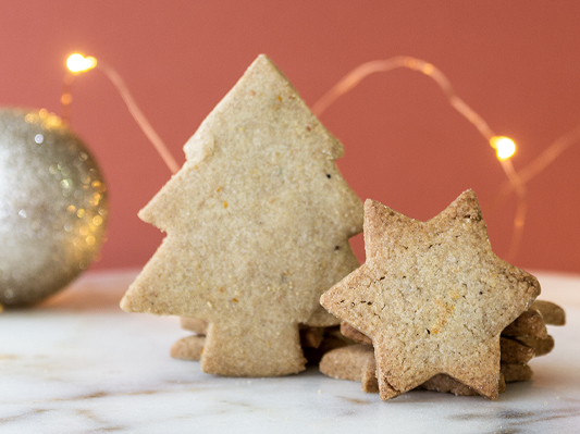 Gingerbread Cookies - WITH CITRUS ZEST + SPICES