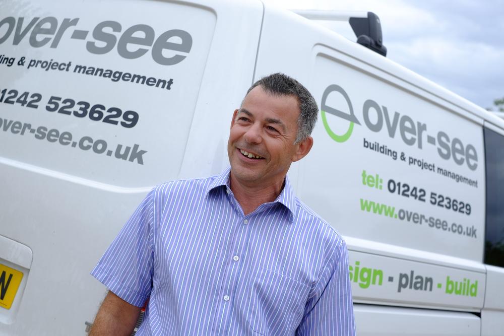 Guy Bassett, Director of Over-see, Design-Plan-Build