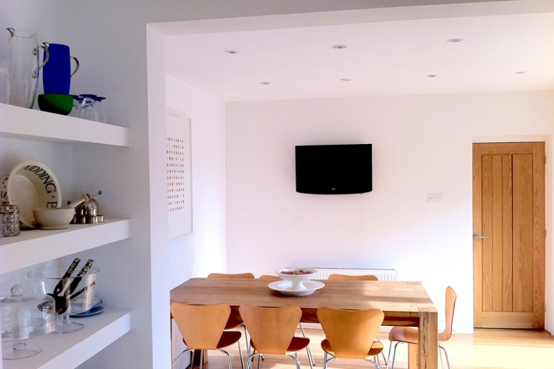 Complete refurbishment of 70s detached house.